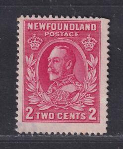 Newfoundland Canada SG 210c Used 1932 2¢ Carmine KGV Perf 13 CV £55