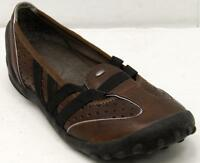 Clarks Privo Women's Brown Leather Loafers Sz 6 M Shoes