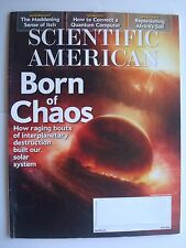 Scientific American May 2016: Born of Chaos, Quantum Computer, Africa's Soil