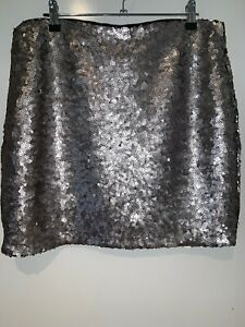 Dynamite Sequins Stretch Skirt Size Large.   # 47