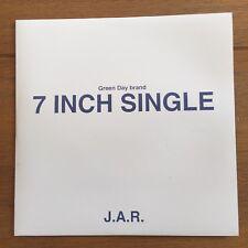 "green day - J.A.R  7""  Black Vinyl"
