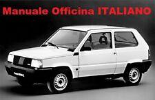 FIAT PANDA Prima serie (141) (1980/2003) Manuale Officina Riparazione ITALIANO