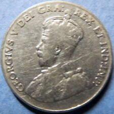 *1928  Vintage  CANADA  5 CENTS COIN, Very Fine Circulated KING GEORGE V COIN