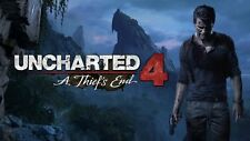POSTER UNCHARTED 2 3 4 LA FINE DI UN LADRO A THIEF'S END NATHAN DRAKE PS4 PS3 8