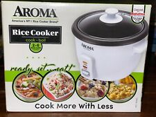 NEW Aroma Rice Cooker 2-6 Cups