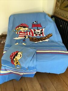 Single Pirate Ship Duvet Cover And Two Pillow Cases