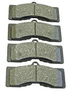 Semi Metallic Brake Pads 1965-1982 Chevrolet Corvette Front/Rear