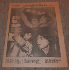 August 5, 1979 Rolling Stones Chicago Tribune After The Show Mick Jagger Keith