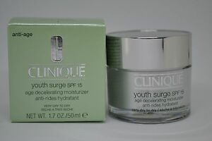 Clinique Youth Surge SPF 15 Age Decelerating Moisturizer -choose your type-