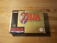 boxed snes game Legend of Zelda A Link To The Past