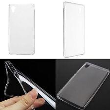 Transparente Tpu Gel posterior suave Funda Protectora Para Sony Xperia M4 Aqua