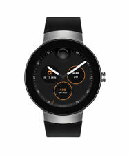 *BRAND NEW* Movado Connect Men's Round Case Silicone Band Smartwatch - 3660016