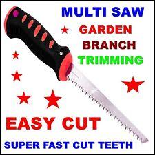 Garden Branch Saw Fast Cut Multi Cutting Trimming Pruning Tool Easy Cut Teeth