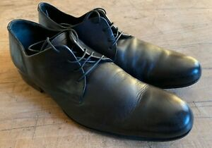 Emporio Armani Black lace-up shoes leather. upper & sole. 9 (43) RRP £400