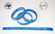 3pcs Inspirational Crossfit Silicone Wristband Bracelet