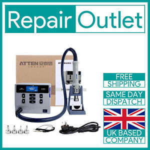 ATTEN ST-862D Hot Air Gun Station 1000W Rework Station For PCB Chip Repair