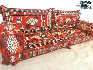 floor seating,arabic cushions,floor cushions,kilim sofa set,arabic couch - MA 46