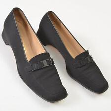 Salvatore Ferragamo Black Loafer Pumps Low Heel Italy Womens EU:39 US:8.5 - 9 AA