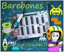 More details for 🧰 barebones diy kit xt-ide ata cf 8 bit isa card for retro computers boot rom