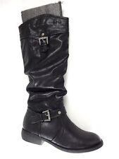 White Mountain Women's Legend Riding Boots Black Size 5 M