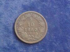 5/10 Kreuzer  1860 V Franz Josef Venedig W/18/686