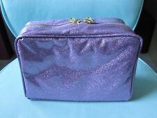 Urban Decay 15 Year Anniversary Quinceanera Makeup Bag glitter purple
