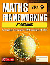 Maths Frameworking – Year 9 Workbook, Greaves, Helen, Greaves, Simon, Good Book