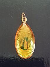 Antica MEDAGLIA medaglietta arte sacra madonna TRIPOLI LIBIA