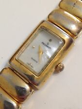 Peugeot Ladies Designer Mother Of Pearl Good Condition Working Quartz Watch