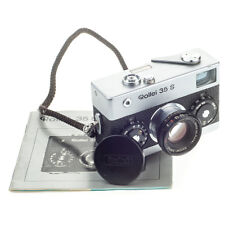 Rollei 35 s Sonnar 2.8 40 mm Strap Cap Manual Vintage Cam Spy Film Camera 40 mm