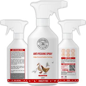Anti Pecking Spray 500ML - Helps Prevent Feather Pecking