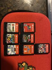 Nintendo Switch 32GB Neon Red/Neon Blue Console With 8 Games