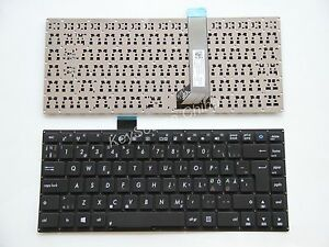 For Asus S400C S400CA S400E V400C V400CA Keyboard Swedish Nordic Norsk Tastatur