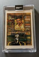 2020 Topps Project #138 Roberto Clemente designed by Andrew Thiele new w/box