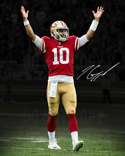JIMMY GAROPPOLO San Francisco 49ers Signed 8X10 Photo Reprint