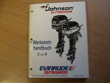 Werkstatthandbuch Johnson Evinrude Außenborder EO 1995 2 2.3 3.3 3 4 5 6 8 PS