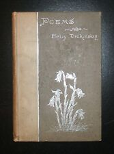 1891 Poems by EMILY DICKINSON, 1st Series / 2nd Edition (stated),  115 Poems