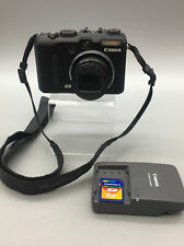 Canon PowerShot G9 12.1MP Digital Camera For Parts/Repair - Zoom Broken C21