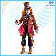 "Disney Film Collection 13 1/2"" Mad Hatter Doll Alice Through the Looking Glass"