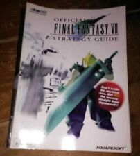 Brady Games Final Fantasy VII 7 Official player Strategy Guide, Great Condition