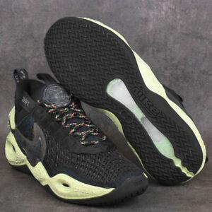 Nike Cosmic Unity DA6725-001 Green Glow Mens Basketball Shoes Sneakers