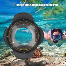 67mm Fisheye Wide Angle Lens Shade 60m Waterproof Underwater Dome Port Housing