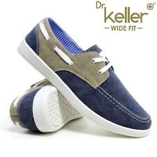 Mens New Lace Up Casual Boat Deck Mocassin Wide Fit Loafers Driving Shoes Size