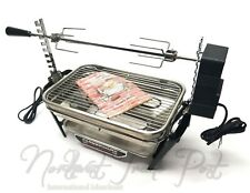 Farberware Stainless Steel Open Hearth Broiler Rotisserie Grill 455N with Motor