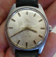 Vintage gents stainless steel  OMEGA wristwatch
