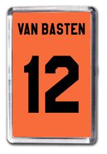 Marco Van Basten Number 12 Netherlands Football Shirt Fridge Magnet Design