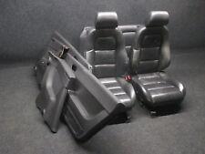 LEDER Sportsitze Ausstattung Audi TT 8N Sitze Lederausstattung schwarz