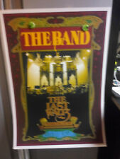 "The Band 40th AnniVersary of The Last Waltz  Bob MaSse StudioS 17""x 24"" PoSter"