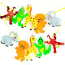2M - Party Garland Hanging Paper Animal Birthday Baby Banner Bunting Decoration