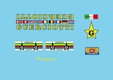 Guerciotti bicyclette decals-transfers-autocollants #1